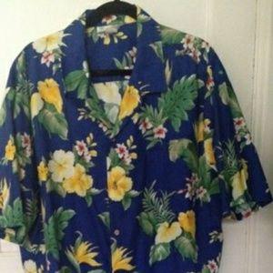 T Y Dresses - Hawaiian print dress and shirt jacket